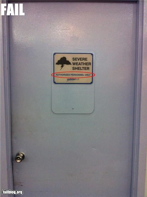 failboat g rated hurricane safety first shelter signs weather - 5129619456