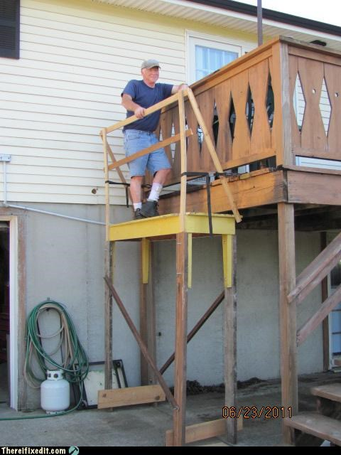 carpentry Professional At Work scaffolding - 5129815040
