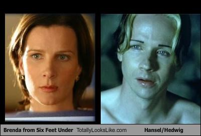 Brenda from Six Feet Under Totally Looks Like Hansel/Hedwig