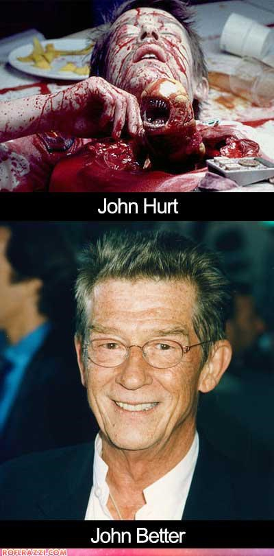 actor alien celeb funny john hurt Movie - 5130057728