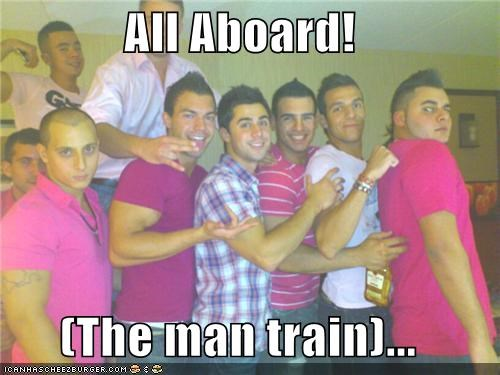 All aboard the mantrain