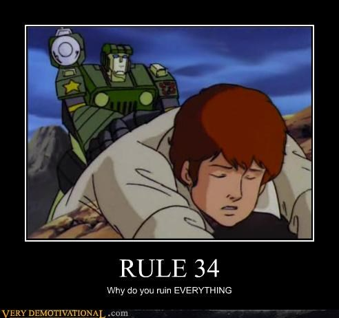 RULE 34 Why do you ruin EVERYTHING