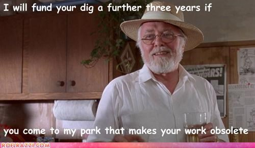 funny jurassic park Movie richard attenborough