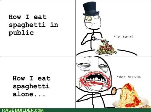 best of week,eating,food,noms,Rage Comics,spaghetti,sweet jesus have mercy