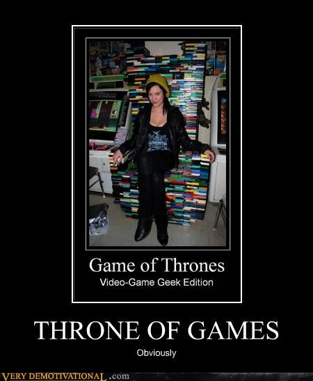 Game of Thrones hilarious throne video games - 5130362368