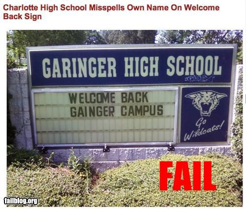 back to school,failboat,g rated,package,signs,spelling,typos