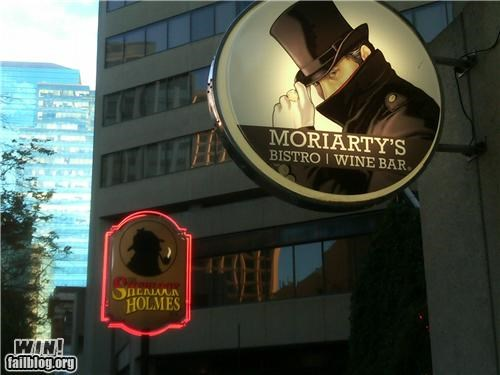 bar,bistro,business,mystery,sherlock holmes,sign
