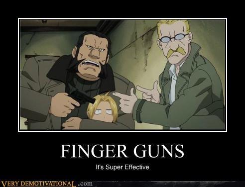 anime finger guns hilarious super effective - 5130686464