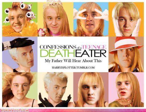 actor celeb fake funny Harry Potter sci fi shoop tom felton - 5130954240