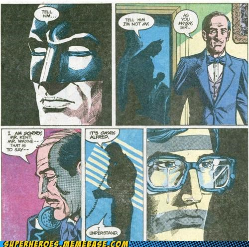 batman forever alone Sad Straight off the Page superman - 5131254528