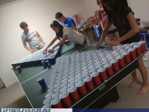beer pong expert skill thousands of them