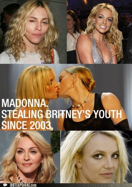 britney spears,Madonna,musicians,pop music,roflrazzi,youth
