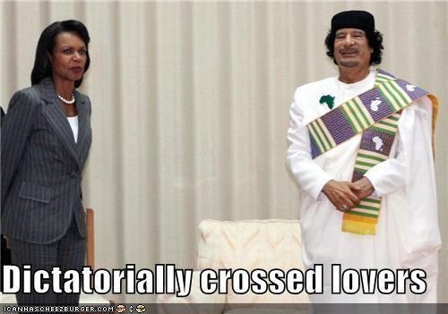 Condoleezza Rice moammar gadhafi political pictures - 5131612928