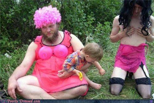 lingerie parenting pink wig - 5131620608