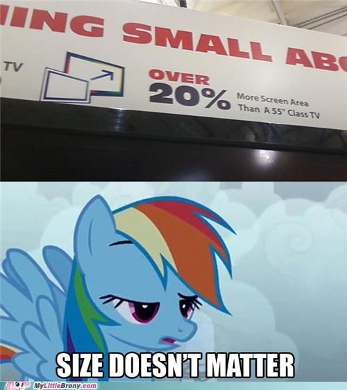 20 percent 20 Percent Cooler rainbow dash size-doesnt-matter - 5131889664