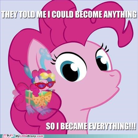 all the things everything pinkie pie ponies they told me - 5131982848