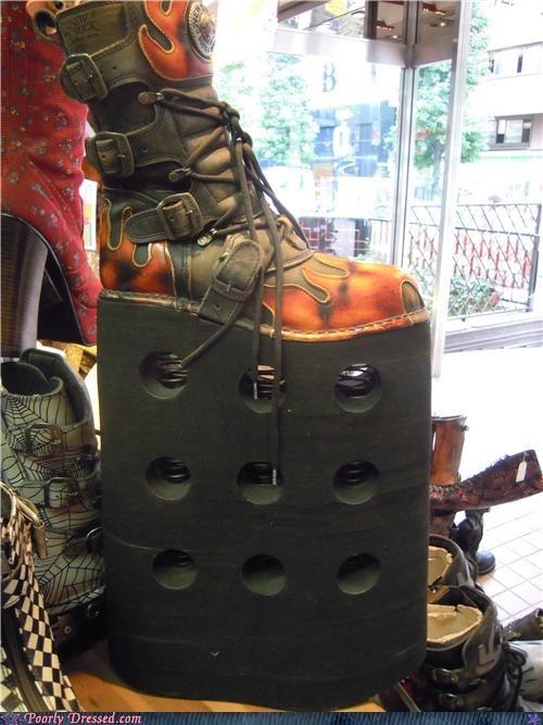 boots platform shoes shoes - 5132342016