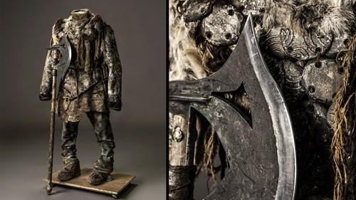 costume hardhome Game of Thrones season 5 wildlings weapons - 513285