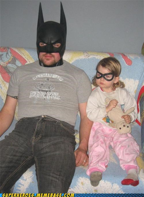 batman,costume,daughter,robin,Superhero IRL