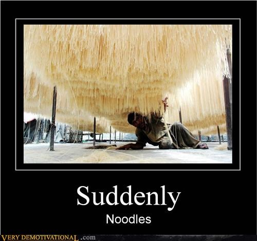 attack magic noodles Pure Awesome suddenly wtf