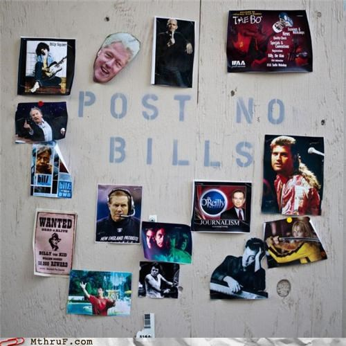 bill bills puns sign - 5134196992