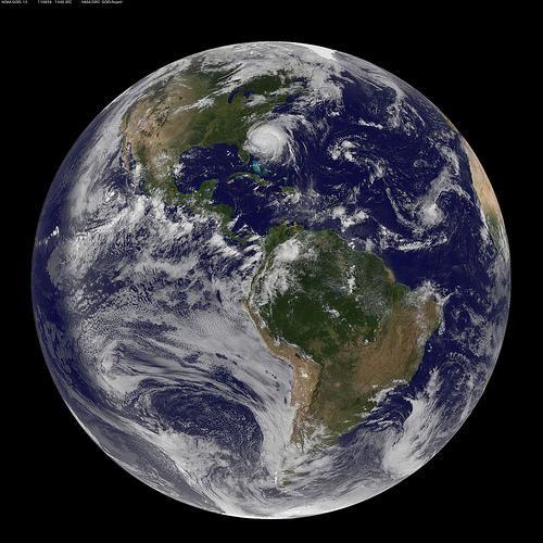 hurricane irene satellite image - 5134213376