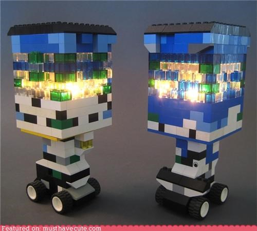 decor lamp lego translucent wheels - 5134255104