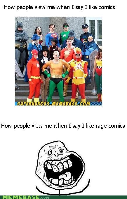 comics,forever alone,How People View Me,memebase,rage