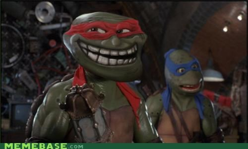 cartoons movies ninja rapheal troll face trolls turtles - 5134374912