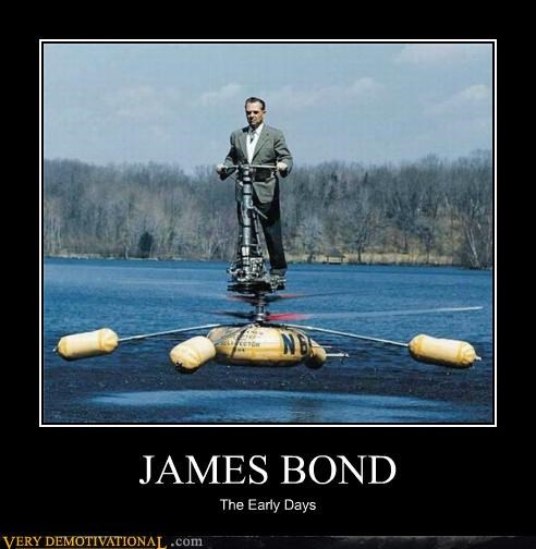 helicopter hilarious james bond wtf - 5134487808