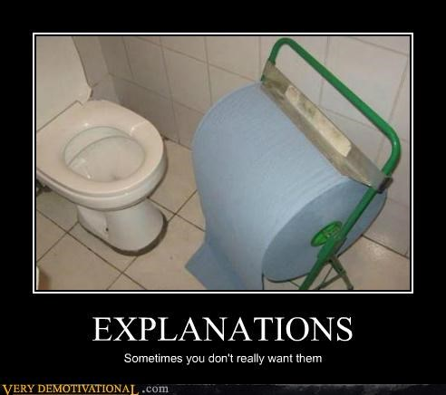explanations impossible toilet unneeded wtf - 5134636288