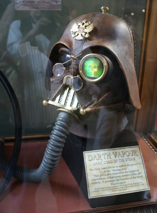 darth vader,darth vader mask,darth vapour,movies,star wars,Steampunk
