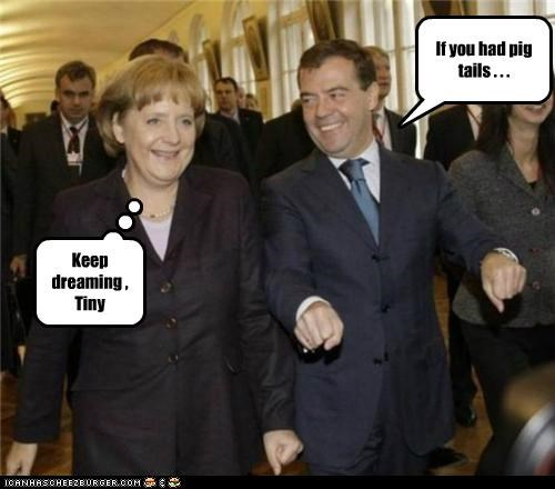 angela merkel,Dmitry Medvedev,political pictures