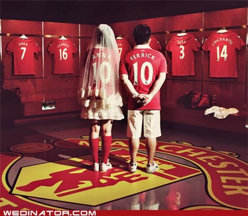 funny wedding photos manchester united soccer - 5134924032