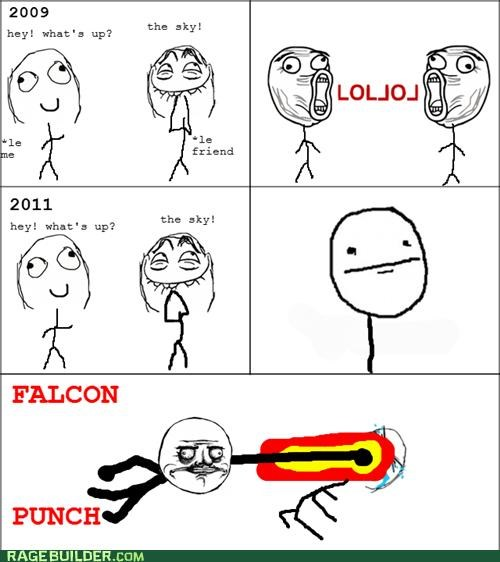 annoying falcon punch me gusta Rage Comics - 5135095040