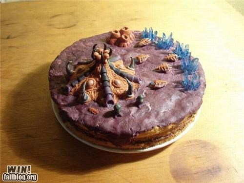 build order,cake,kekeke,nerdgasm,starcraft,treat,Zerg,zerg rush