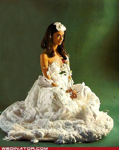 bride foam foam dress funny wedding photos - 5135176960