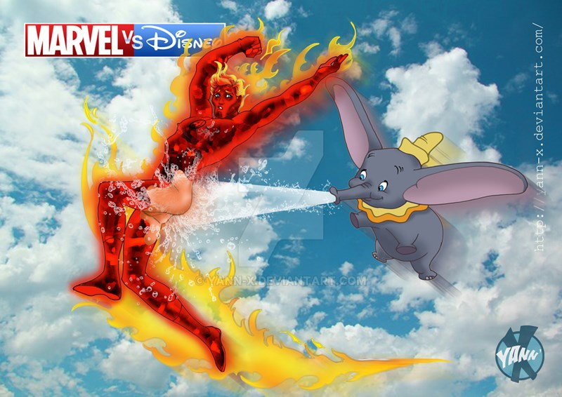 disney marvel mashups