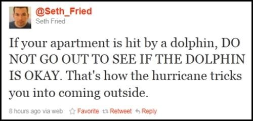 hurricane irene,tweet
