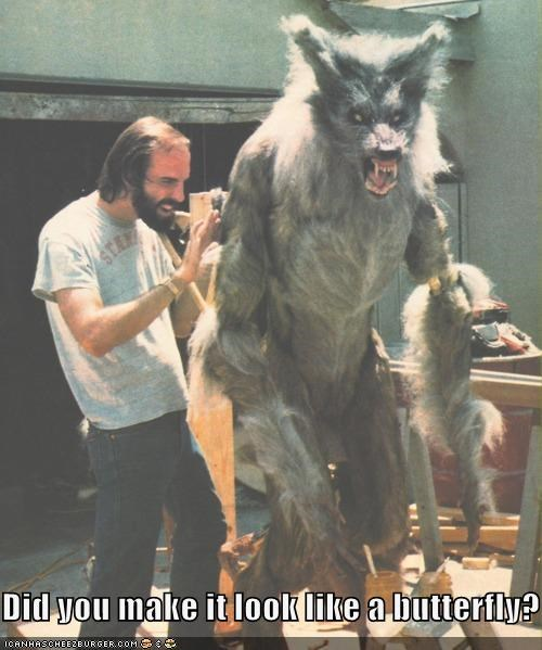 funny Hall of Fame Movie the howling werewolf