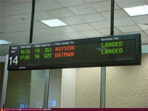airplane batman city wtf - 5135948544