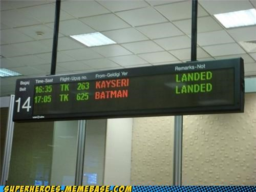 airport bat cave batman flight Random Heroics