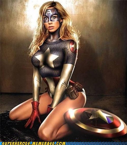 captain america Random Heroics Sexy Ladies wtf - 5136008192