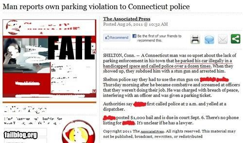 failboat g rated parking Probably bad News stupid criminals wtf - 5136639744