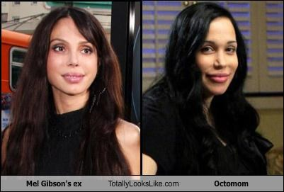 Mel Gibson's ex Totally Looks Like Octomom