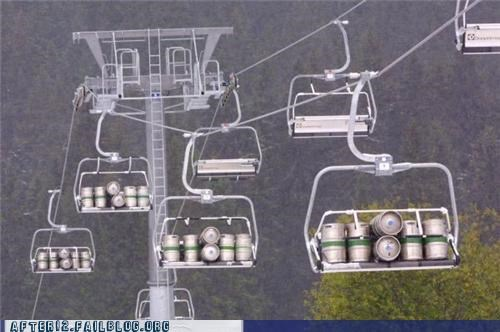 beer keg ski lift supplies win - 5137318400