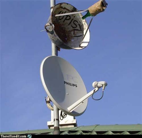 bottle satellite dish technology - 5137379584