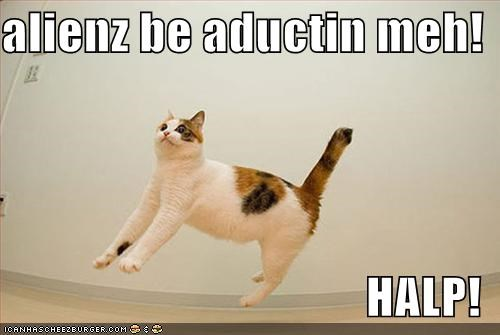 abductions Aliens lolcats
