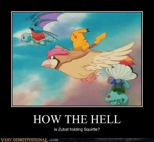 good question,hilarious,Pokémon,squirtle,zubat