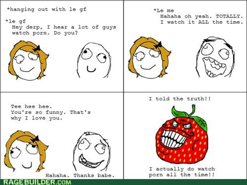 girlfriend,pr0n,Rage Comics,strawberry guy